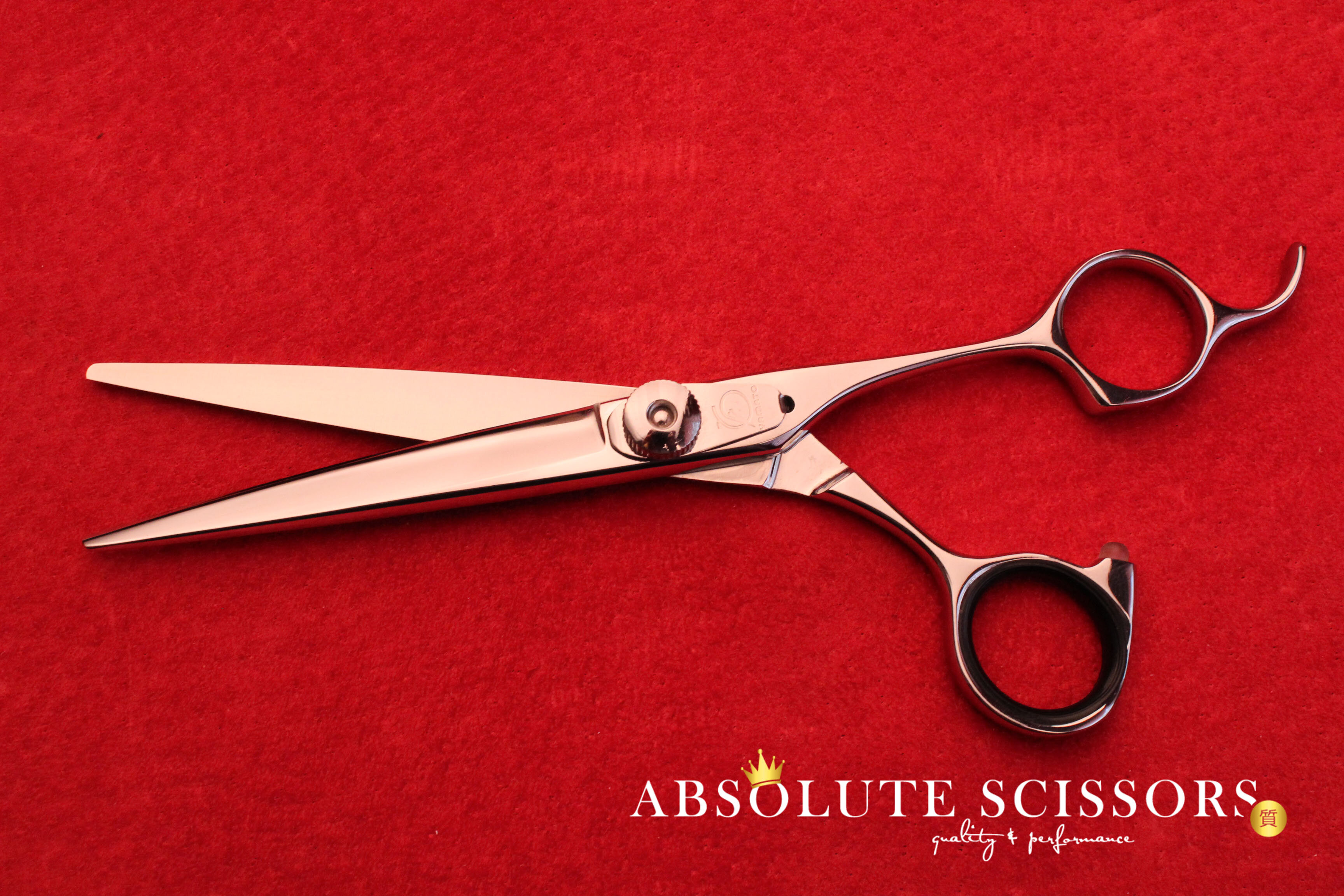 A60 3628 Yamato hair scissors size 6 inches cobalt