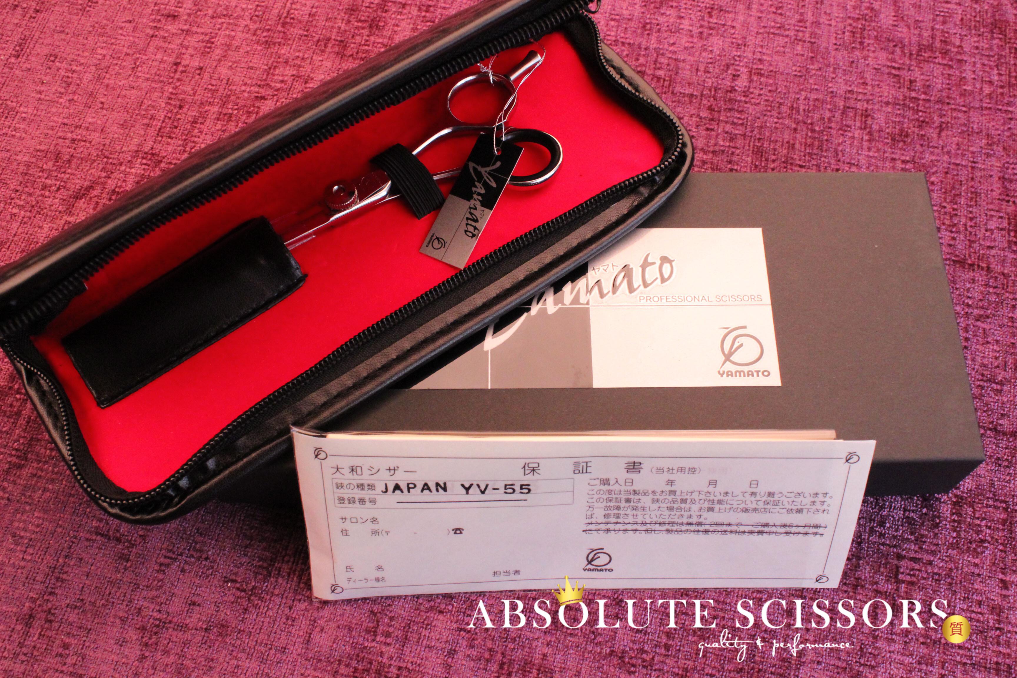 Elite YV55 3674 Yamato hair scissors size 5.5 inches