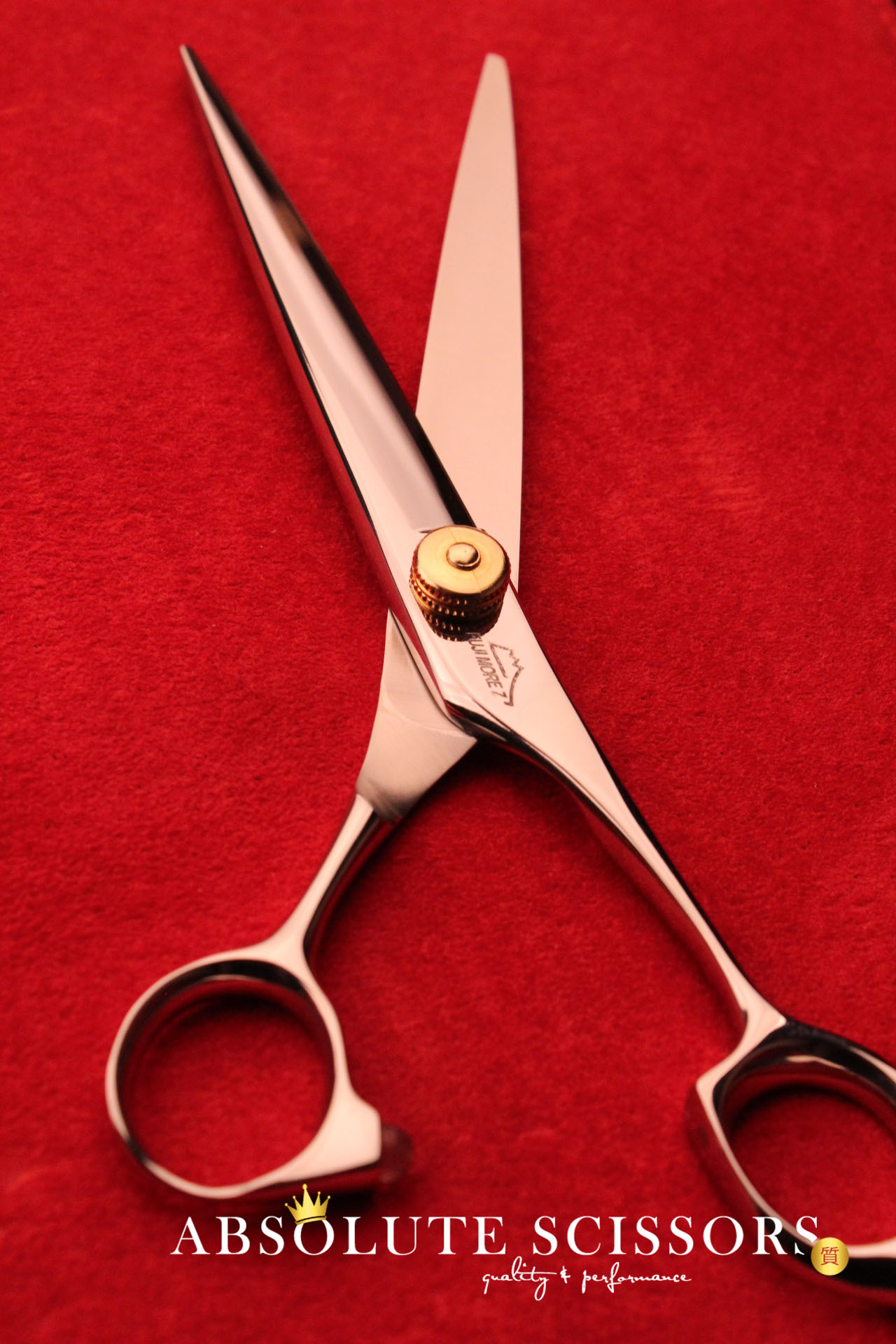 DXF 3818 Fuji Morez hair scissors deluxe alloy size 7 inches