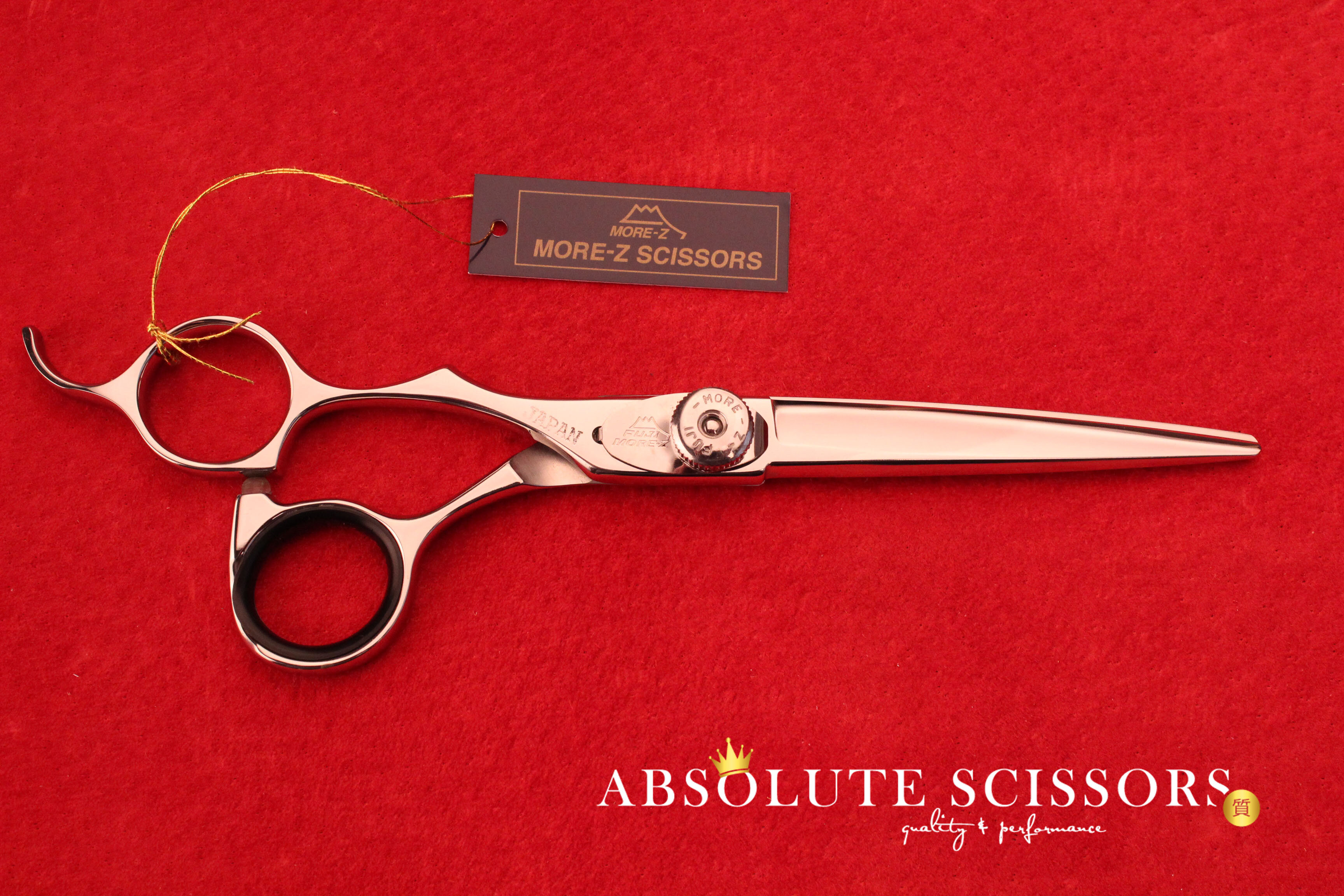 SF60 3588 Fuji Hair scissors left handed size 6 inches