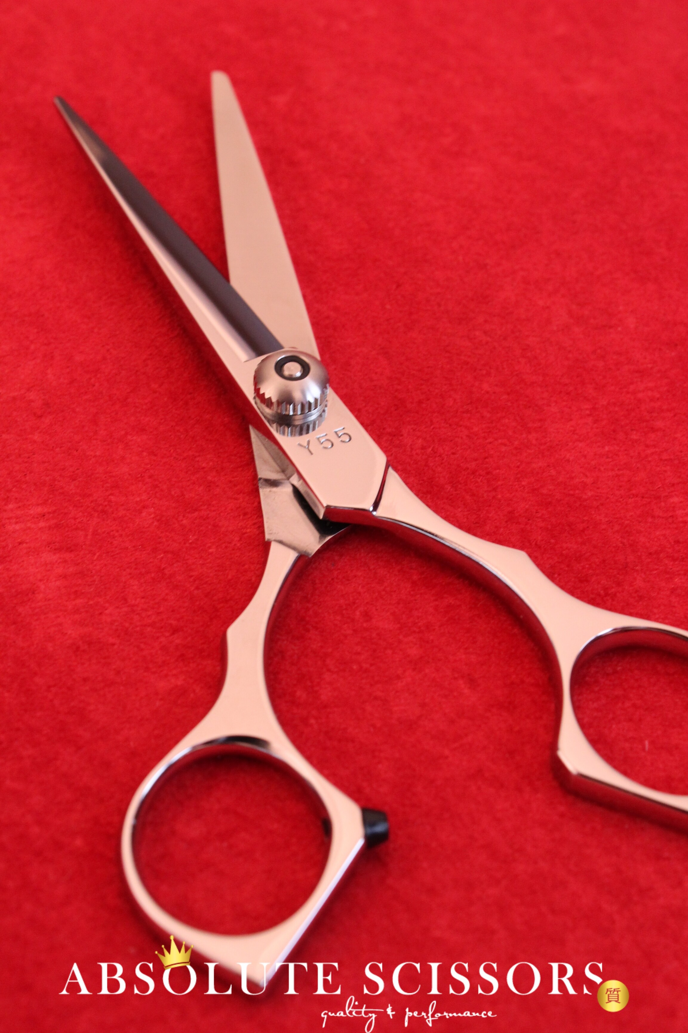 yasaka y hair scissors size 55