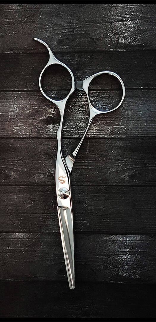 hair scissors butterfly