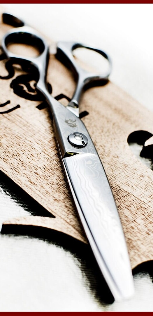 kamisori Damascus shears scissors