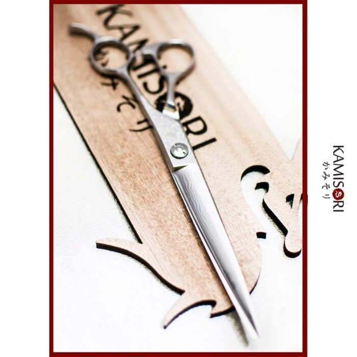 Kamisori Frost Damascus scissors shears
